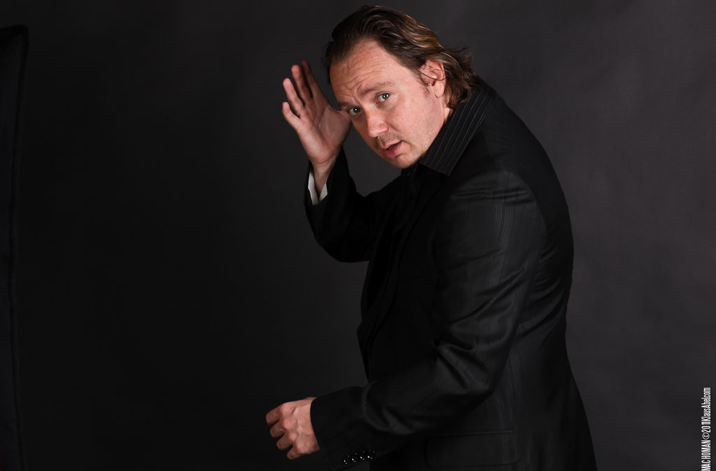 Actor: Torsten Eikmeier, Studio, Client: Sandkorn Theater Karlsruhe Title: Machoman