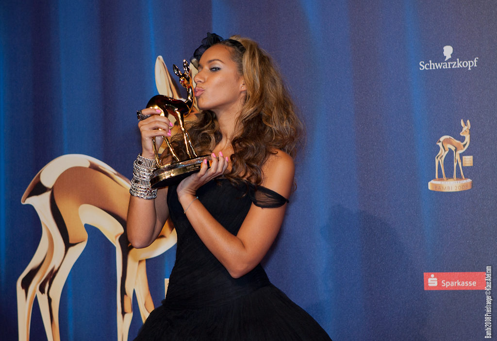 Actor: Leona Lewis, Client: BadenOnline.de  Location: On Location Offenburg Germany, Title: Bambi 20