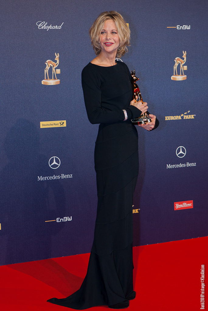 Actor: Meg Ryan, Client: BadenOnline.de  Location: On Location Offenburg Germany, Title: Bambi 2008
