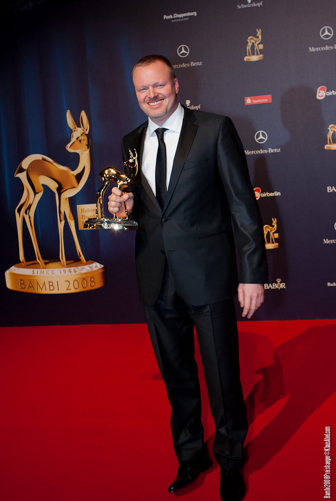 Actor: Stefan Raab, Client: BadenOnline.de  Location: On Location Offenburg Germany, Title: Bambi 20