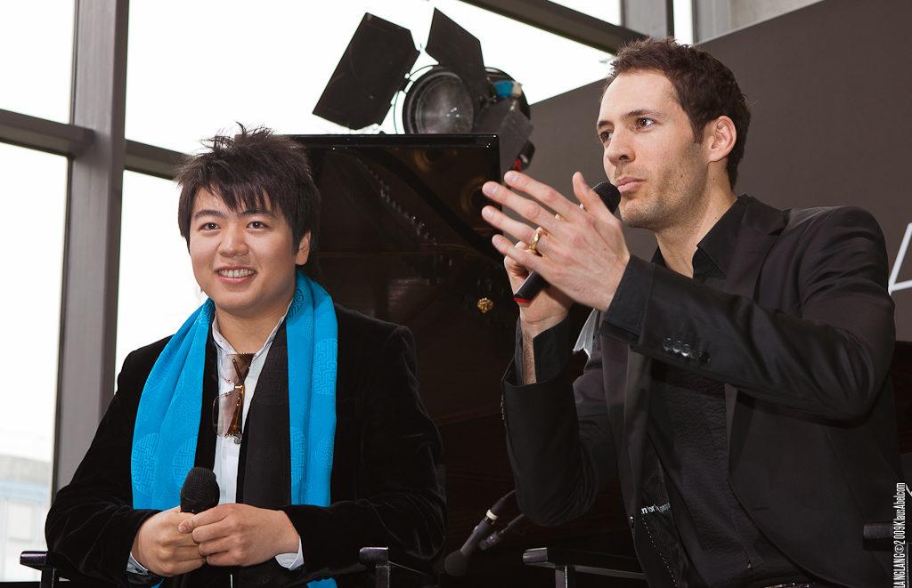 Actor: LangLang und Alexander Mazza,  Location: On Location Offenburg Germany, Title: LangLang@Burda