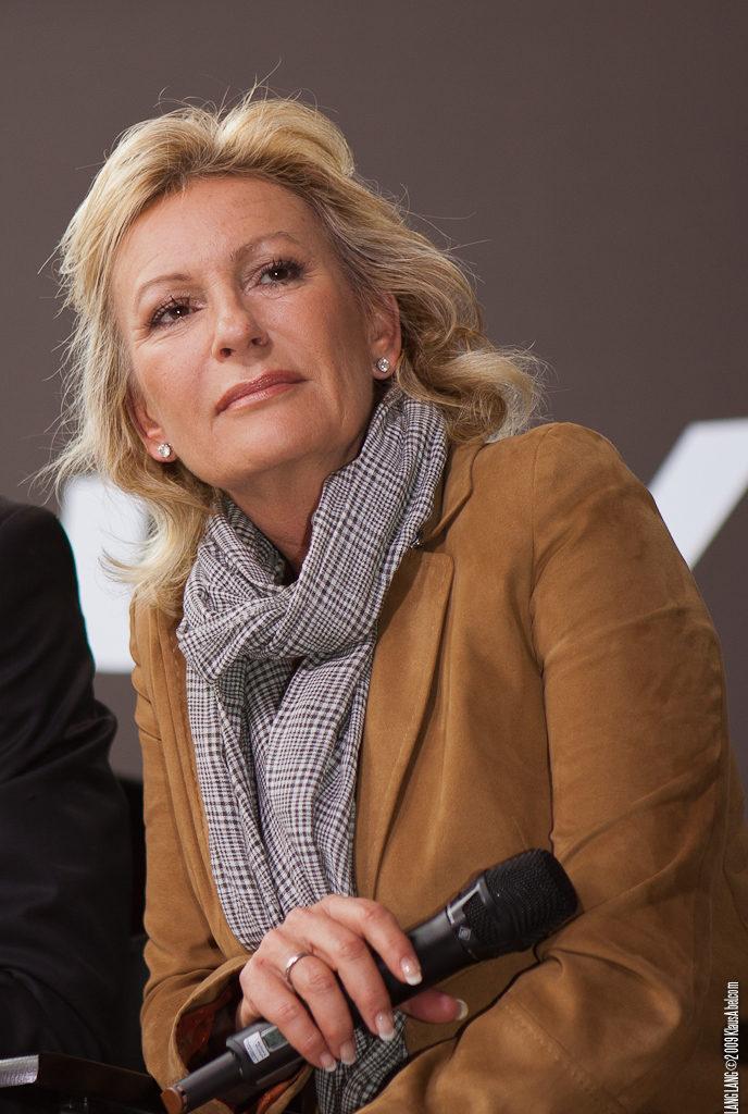Actor: Sabine Christiansen,  Location: On Location Offenburg Germany, Title: LangLang@BurdaLive2009