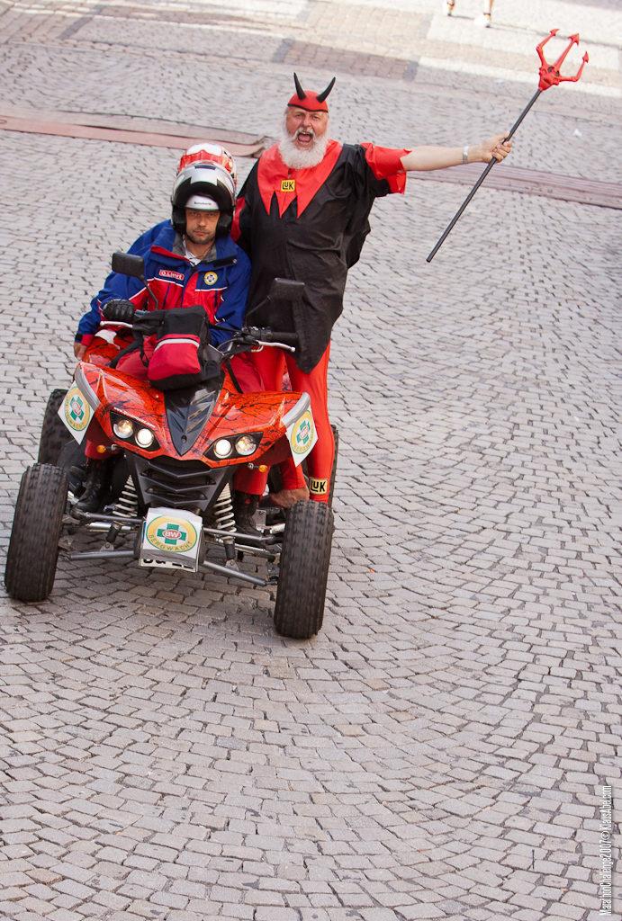 Actor: Didi Senft, On Location Offenburg Germany, Client: Schwarzwald Mountainbiker, Title: Marathon