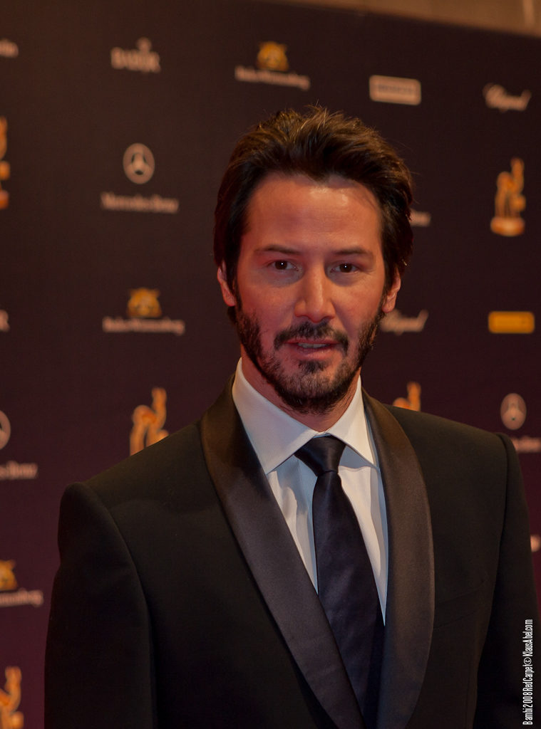 Actor: Keanu Reeves Client: BadenOnline.de  Location: On Location Offenburg Germany, Title: Bambi 20