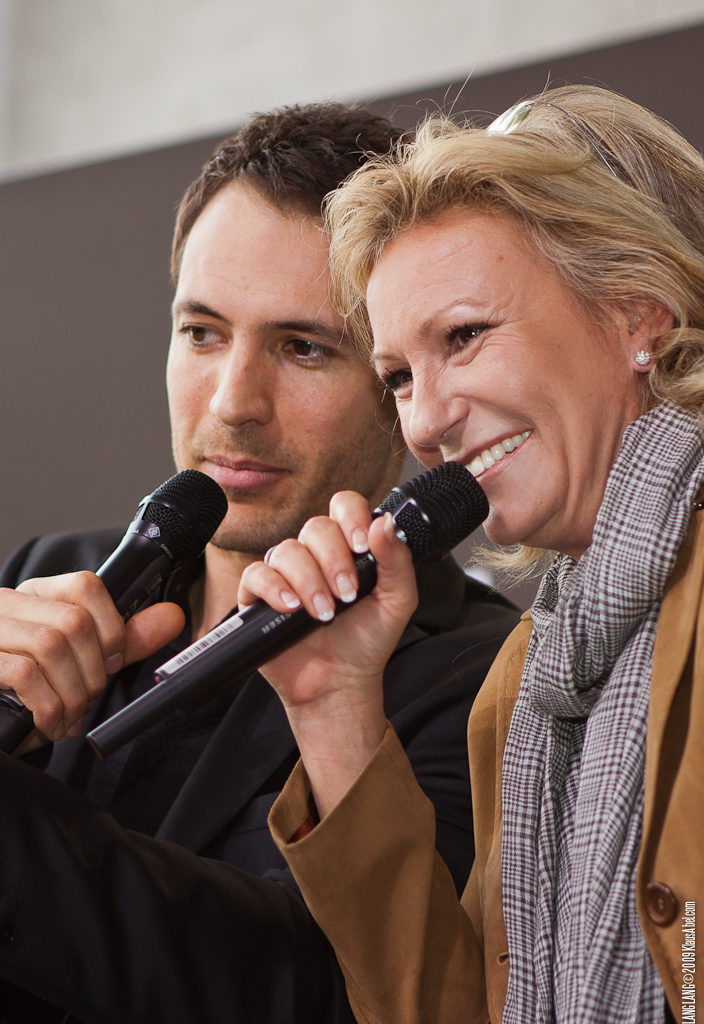 Actor: Alexander Mazza und Sabine Christiansen,  Location: On Location Offenburg Germany, Title: Lan
