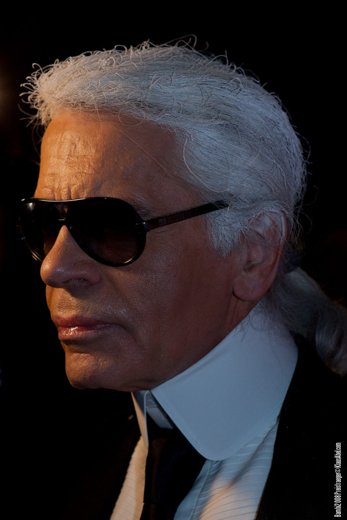 Actor: Karl Lagerfeld, Client: BadenOnline.de  Location: On Location Offenburg Germany, Title: Bambi