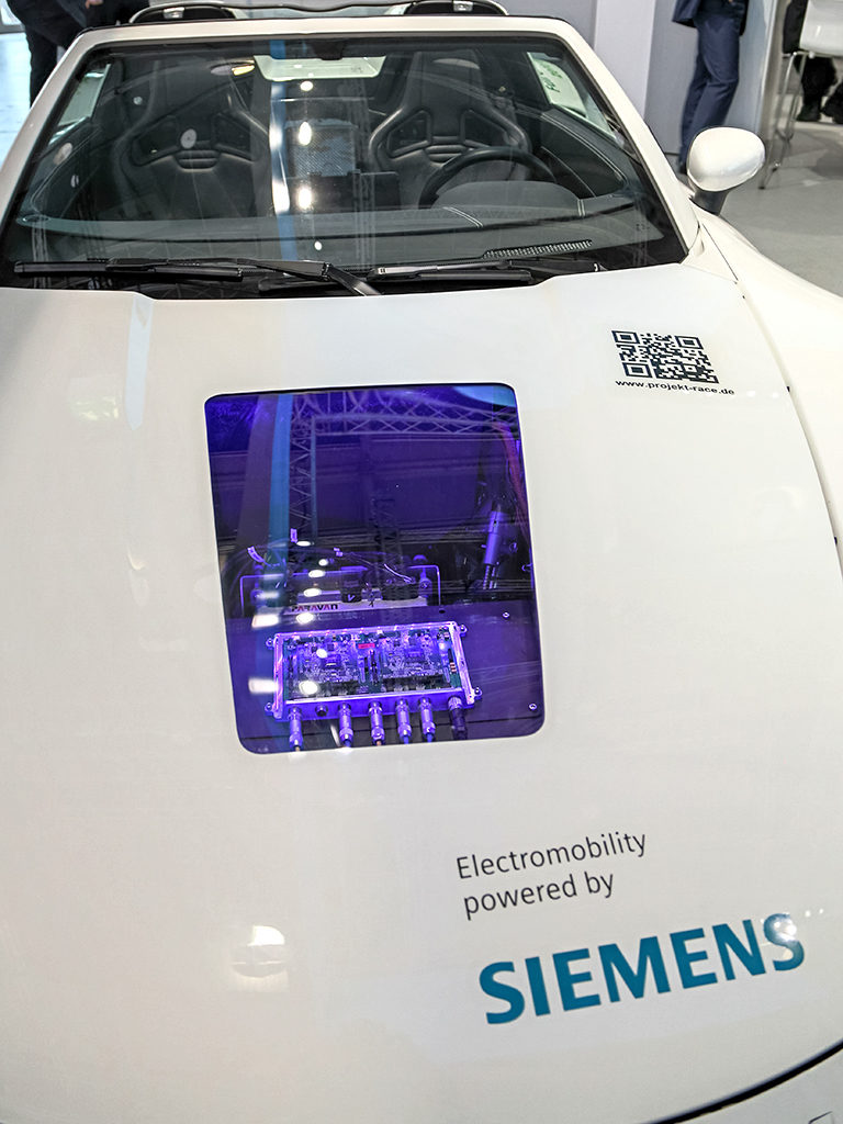 Actor: Siemens, Location: On Location Frankfurt Germany, Title: IAA 2015