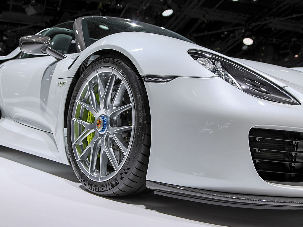 Actor: Porsche 918 Spyder, Location: On Location Frankfurt Germany, Title: IAA 2015
