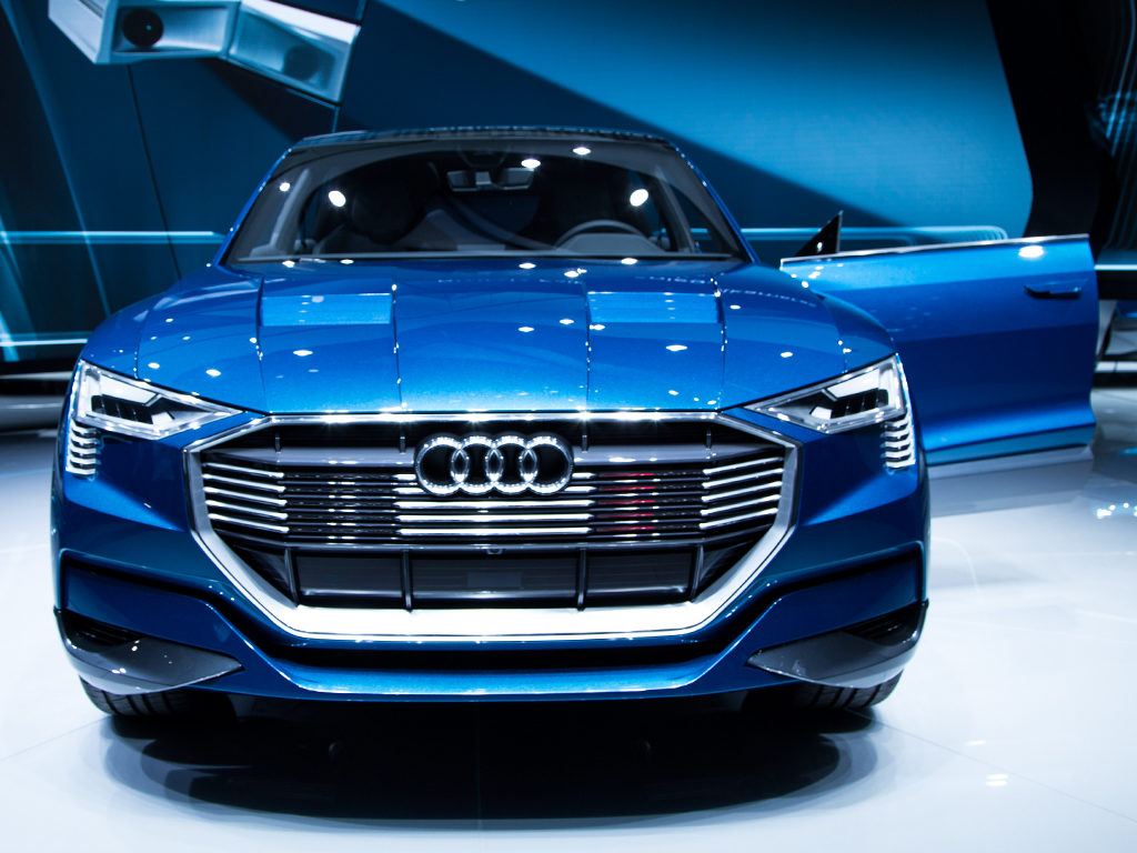 Actor: Audi e-tron quattro concept,  Location: On Location Frankfurt Germany, Title: IAA 2015