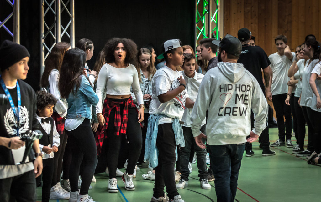 Actor: HipHop Benefiz 2014, On Location Offenburg Germany, Client: Factory of Urban Arts