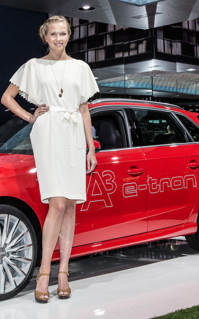 Actor: Audi, On Location Frankfurt Germany Title: IAA 2013