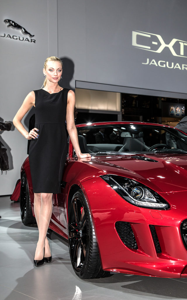 Actor: Jaguar, On Location Frankfurt Germany Title: IAA 2013