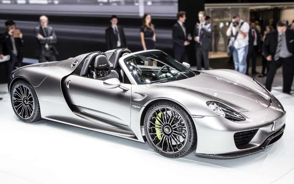 Actor: Porsche 918 Spyder, On Location Frankfurt Germany Title: IAA 2013