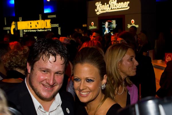 Actor: Matthias Steiner und Barbara Schöneberger, Client: BadenOnline.de  Location: On Location Rust